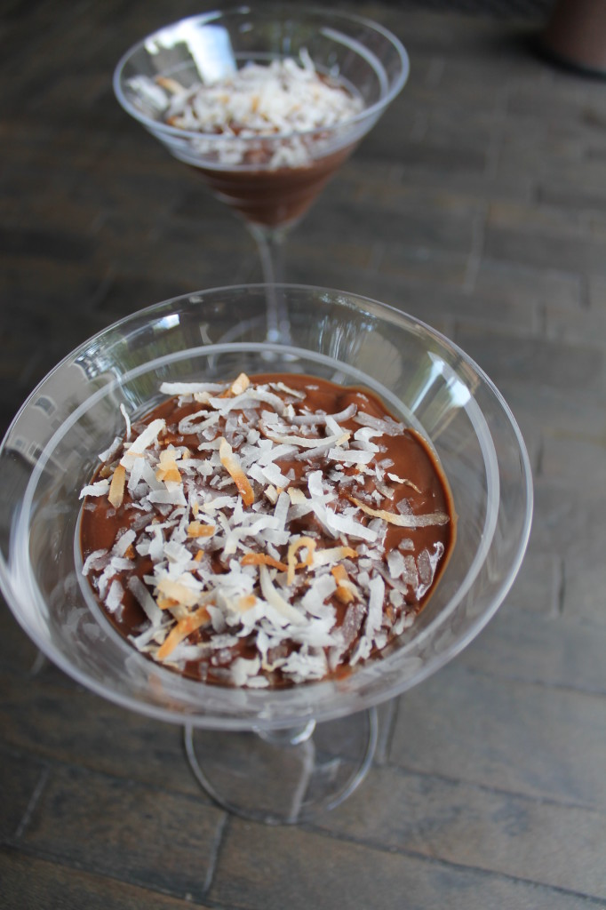 Coconut Chocolate Pudding With Coconut Flakes Recipes — Dishmaps
