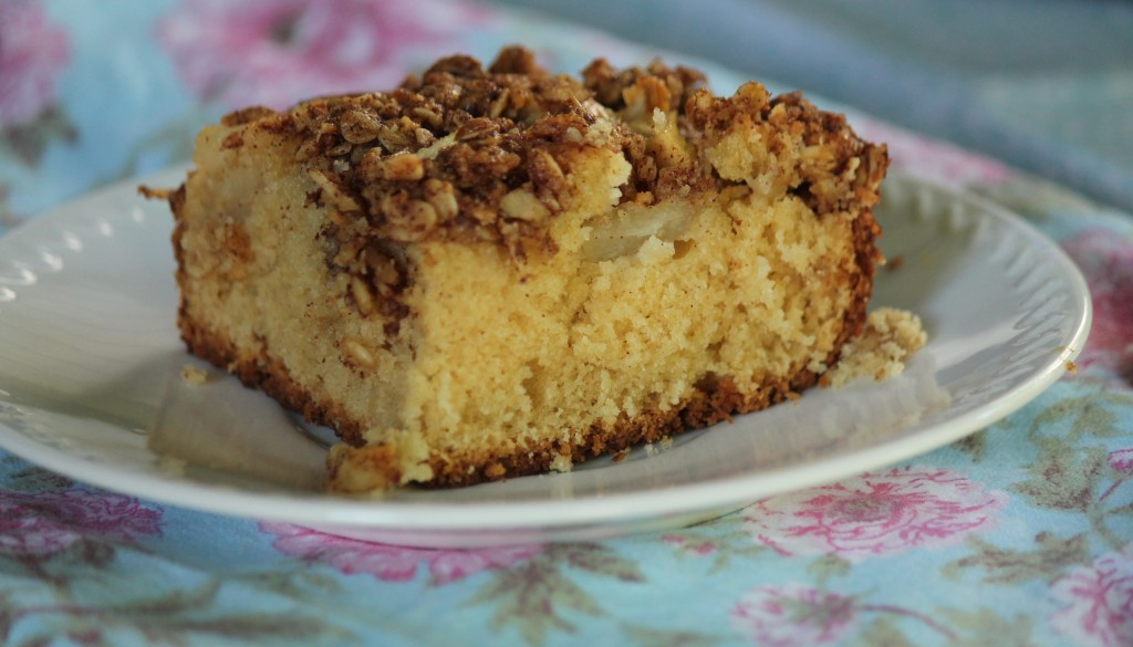 Pear and Sour Cream Coffee Cake - Key Ingredients